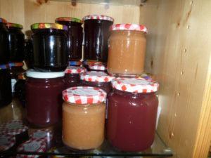 frische Marmeladen